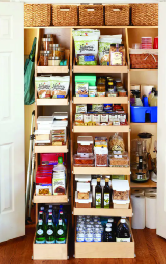 Any cabinet, closet, or pantry!